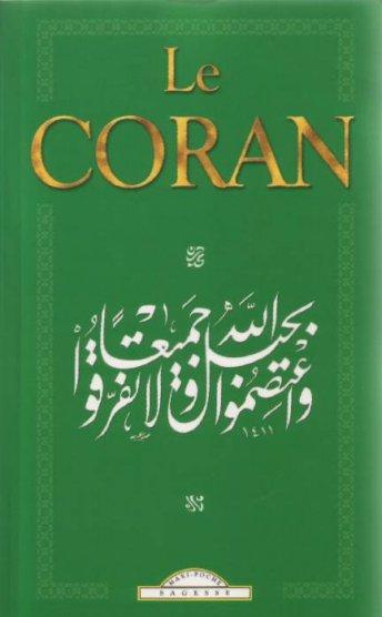 le coran des éditions Maxi-livres, format poche, recto