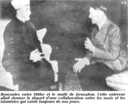 rencontre hitler grand mufti